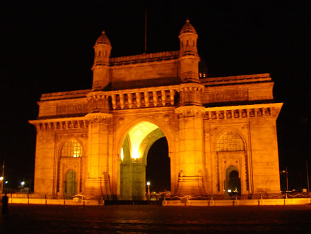 The Gateway To India, final symbol of the British Raj, still stands sentinel over the Bund