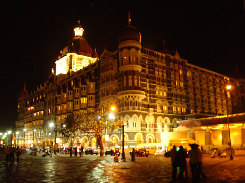 The Taj Hotel, now nearly fully recovered from the bombs and bullets of the 26/11 attacks.
